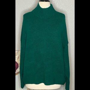 Express So Soft Jewel Mock Neck Sweater NWT L & XL